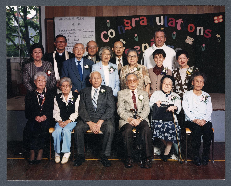 A meeting for senior members