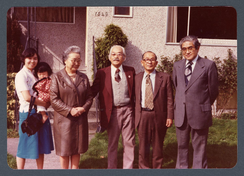 Rev. Norisue, Rev. Kabayama, Miss Namba et al.