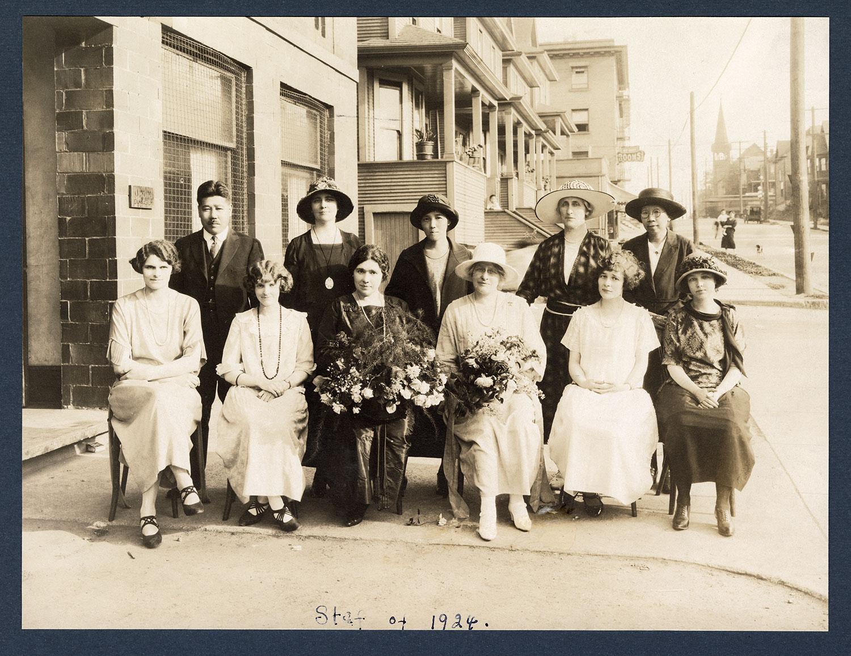 Staff of 1924