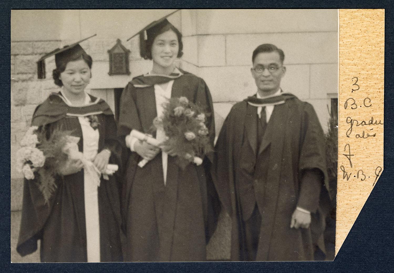 Three UBC graduates