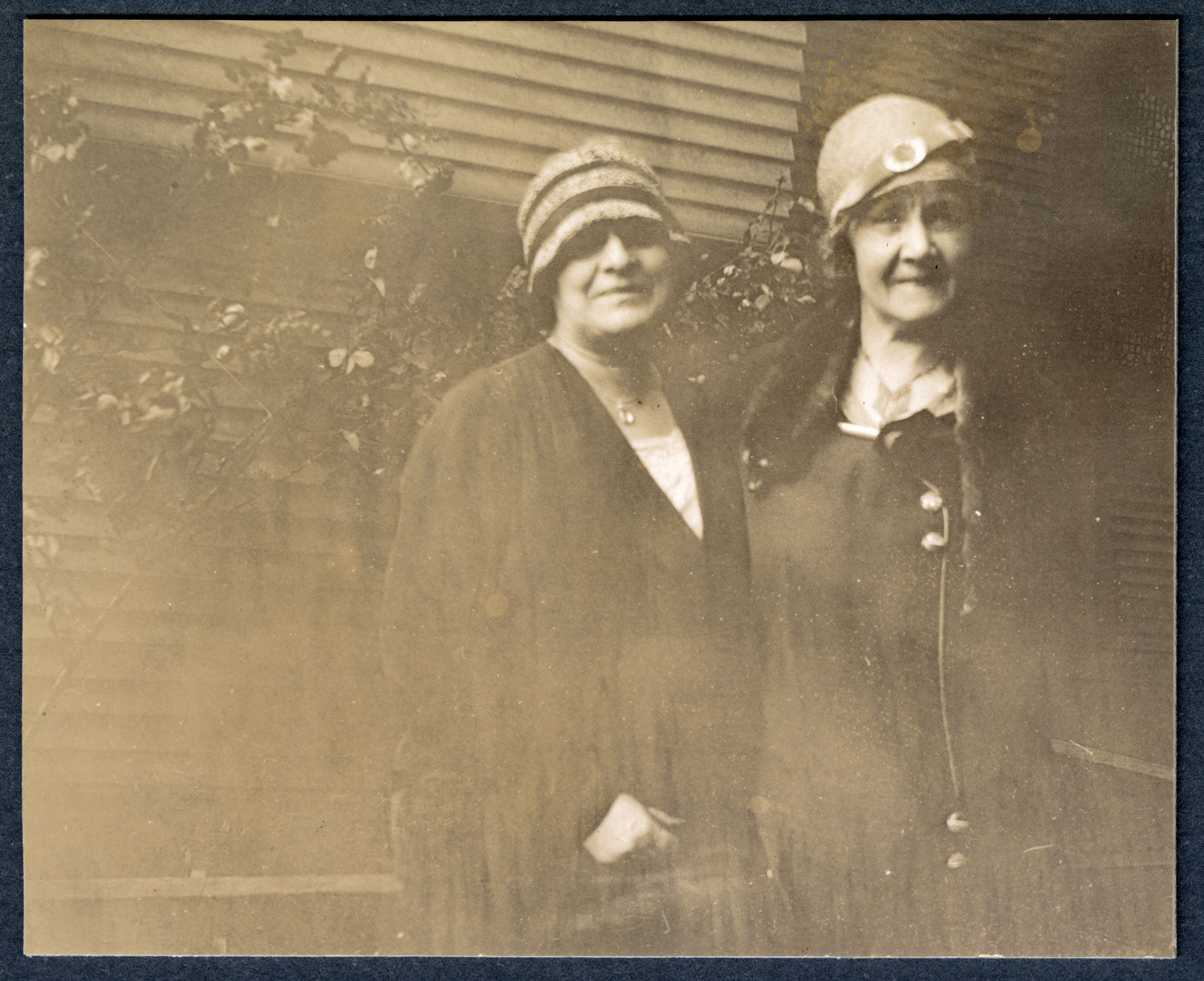 Etta DeWolfe and Mrs. Hope