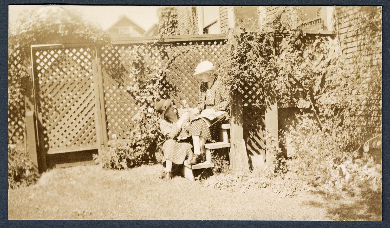 Etta DeWolfe and Jessie Howie