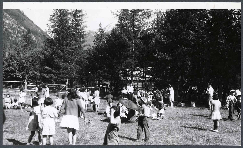 Rosebery & New Denver joint Sunday school picnic, New Denver, BC: Recto