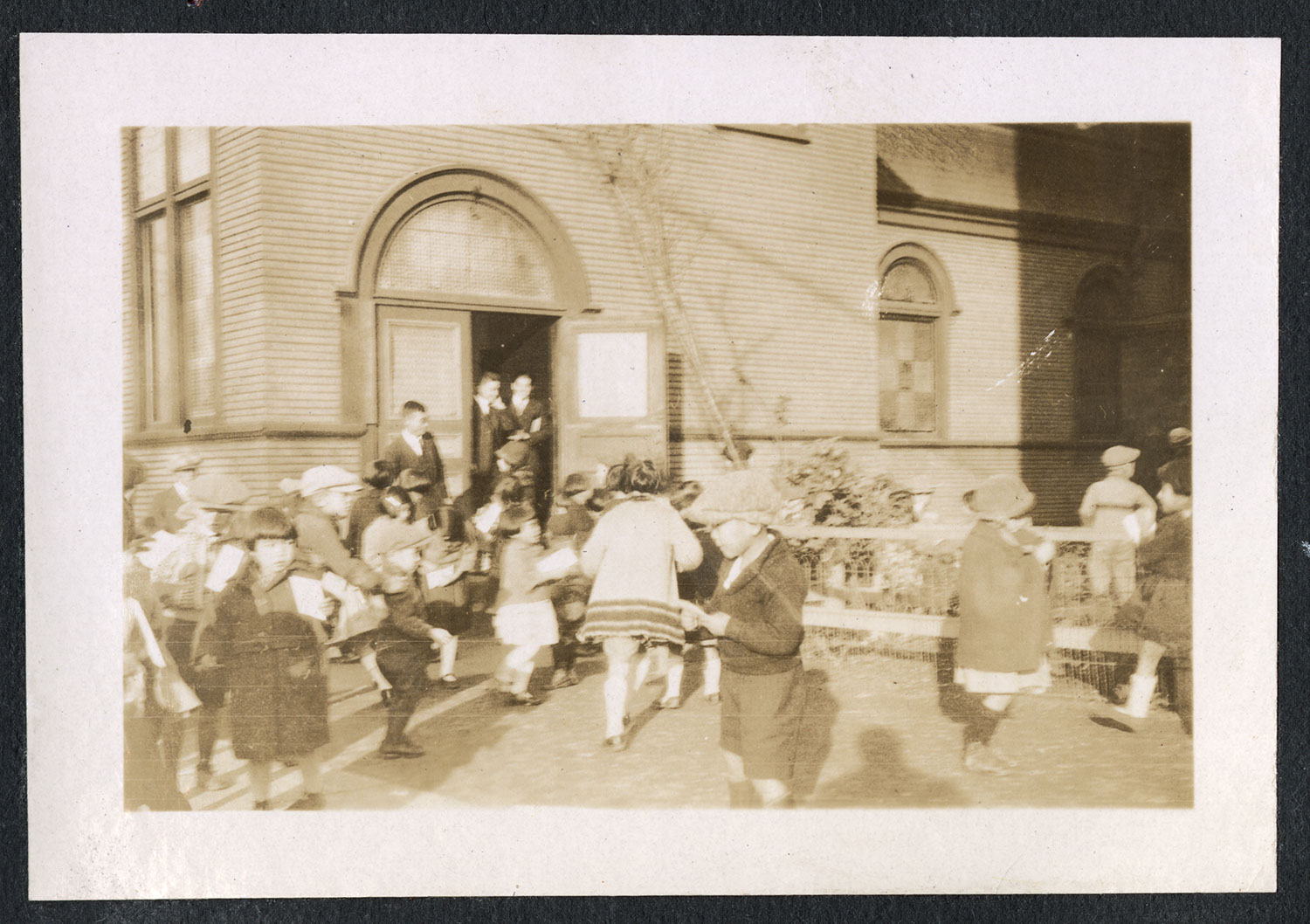 Students playing at the Powell Street Church