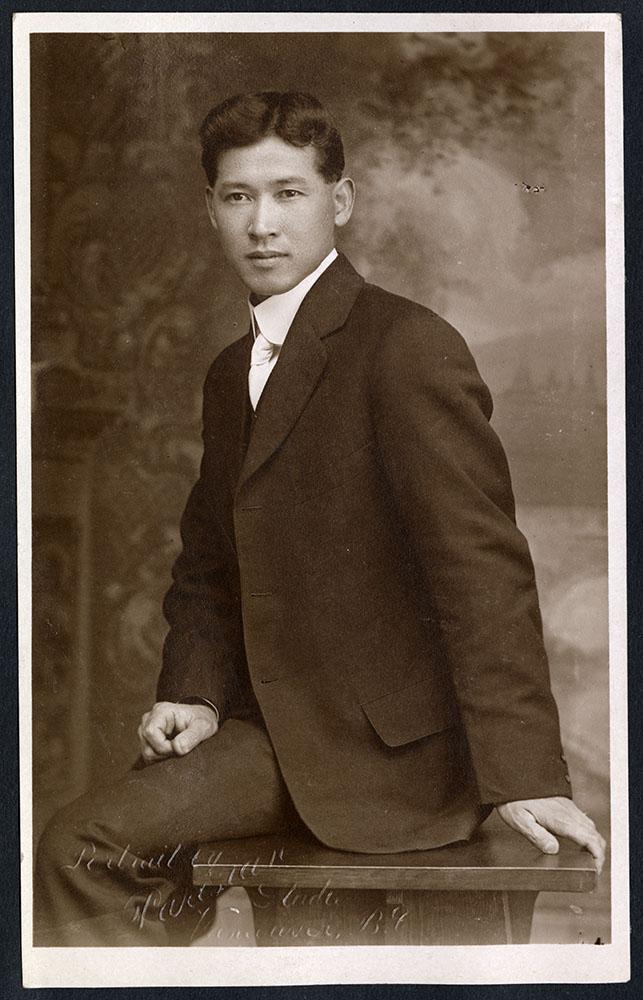 Portrait of a man in formal attire