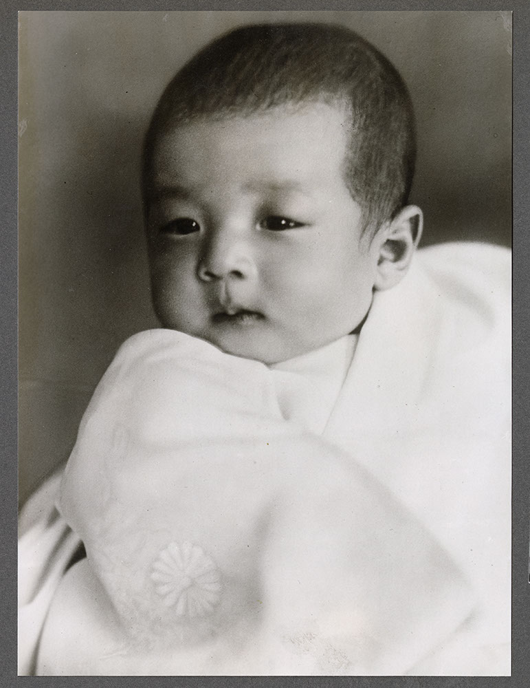 Portrait of Victor Shimizu as a baby
