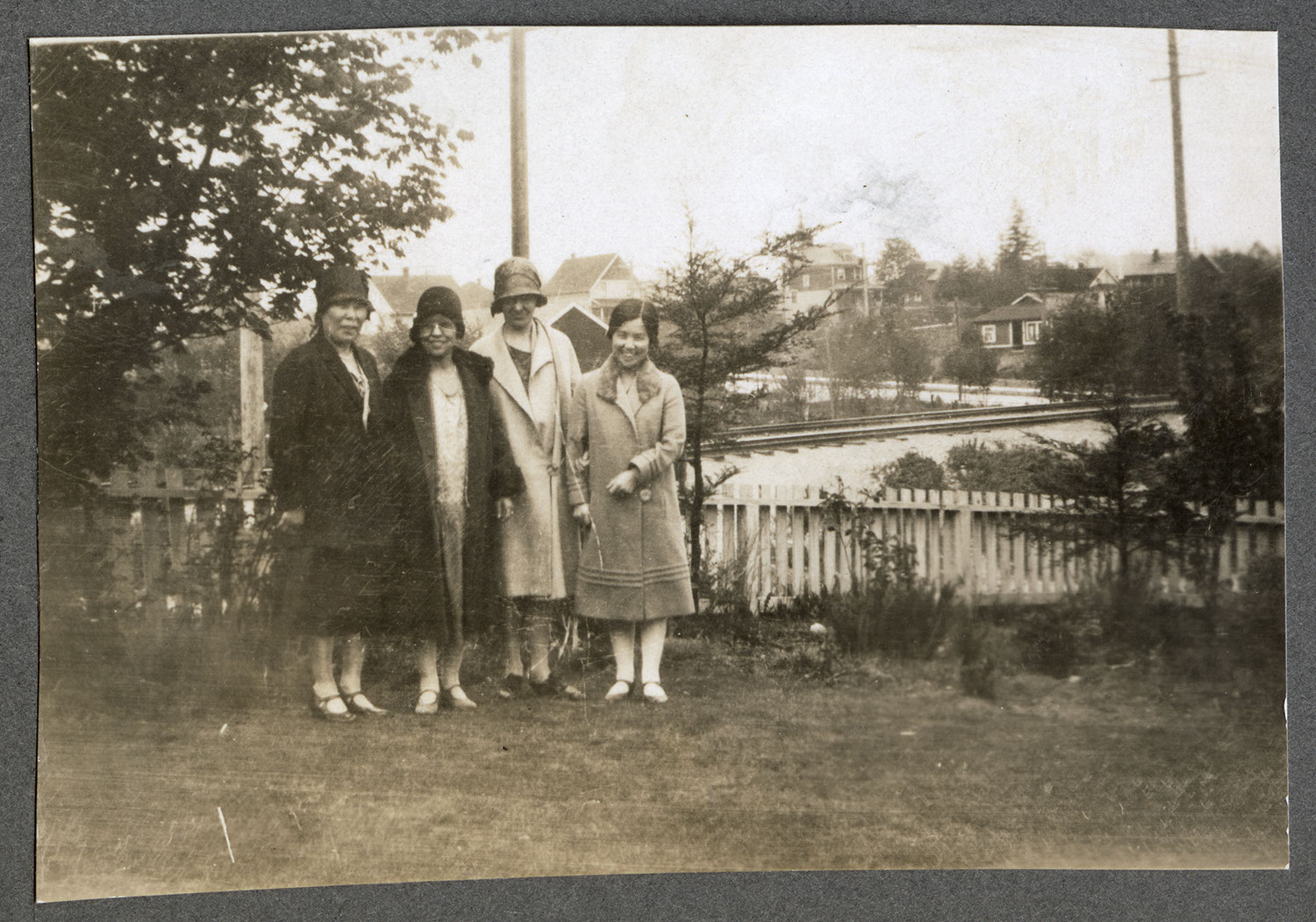 Group of women in the garden