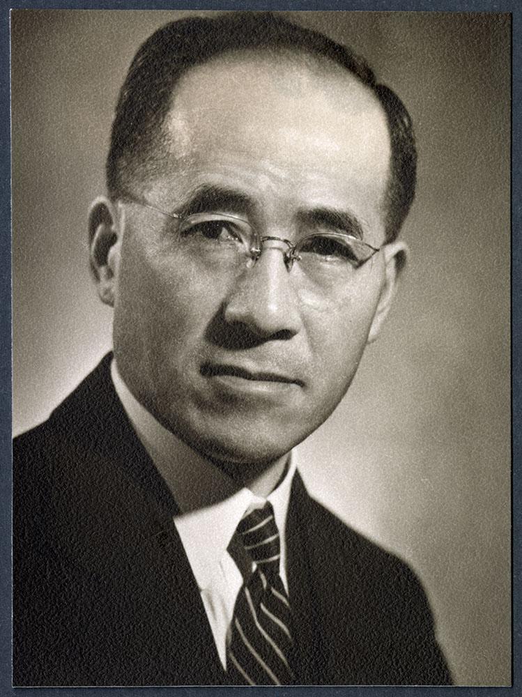 Portrait of Kosaburo Shimizu
