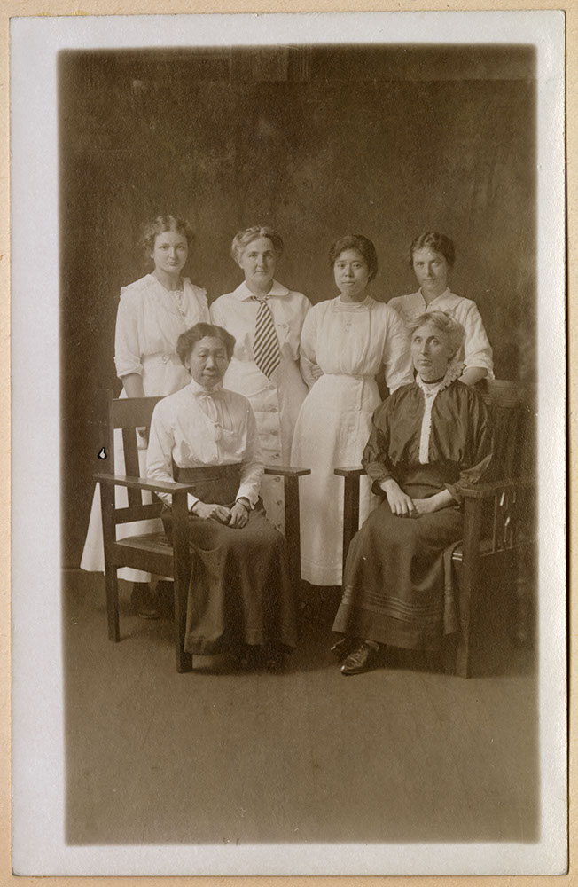 Portrait of WMS workers