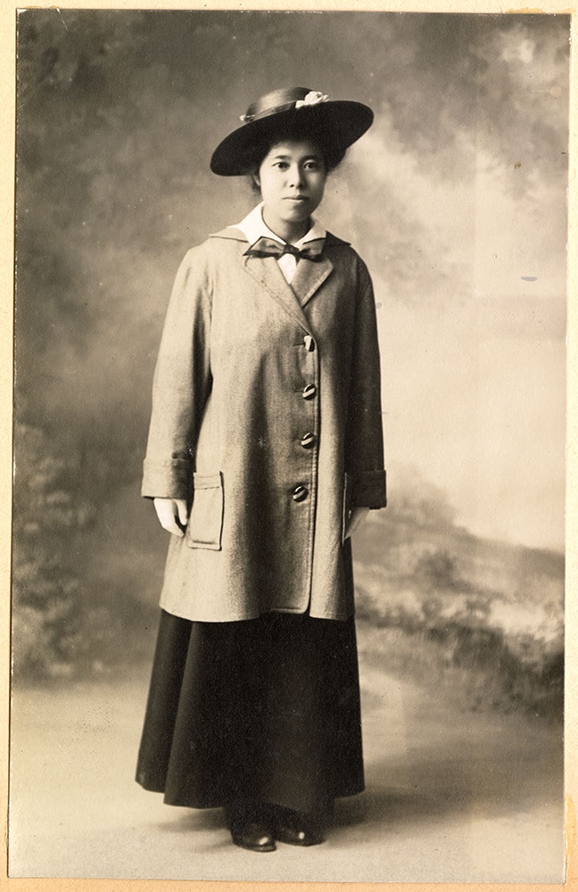 Formal portrait of Tadako Hibi