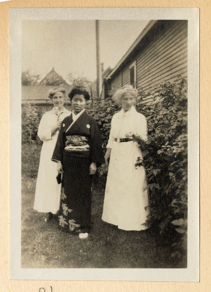 Jessie Howie, Tadako Hibi, and Julia Howie