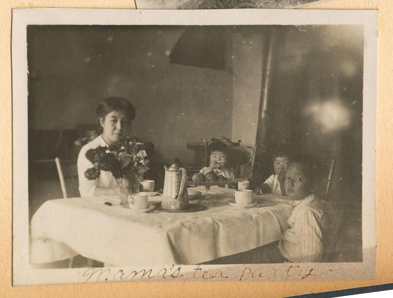 Mama's tea party