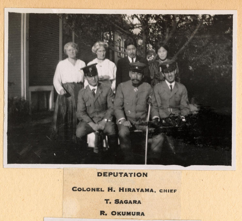 Deputation: Colonel H. Hirayama, Chief; T. Sagara; and R. Okumura