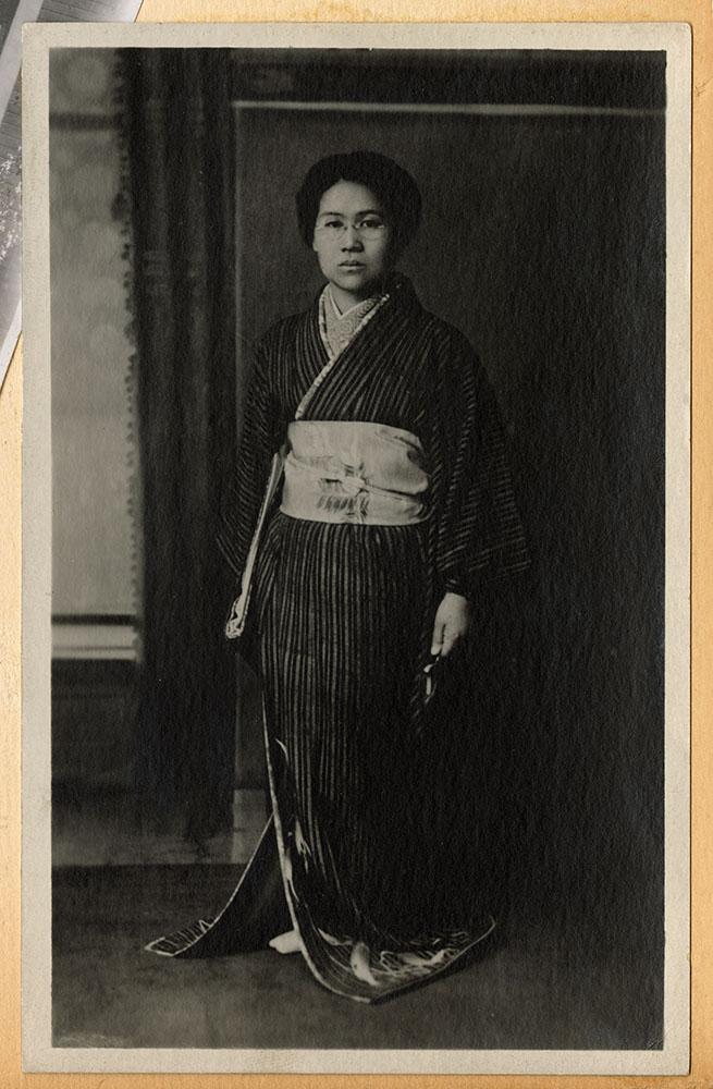 Unidentified woman in kimono