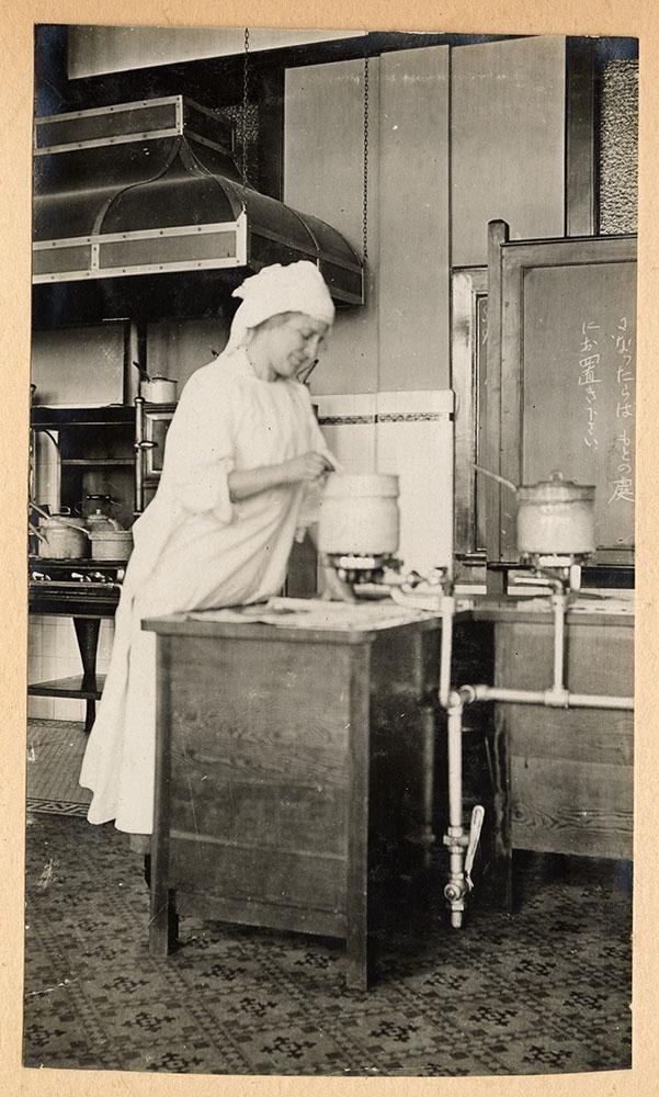 Soup kitchen, Strathcona School