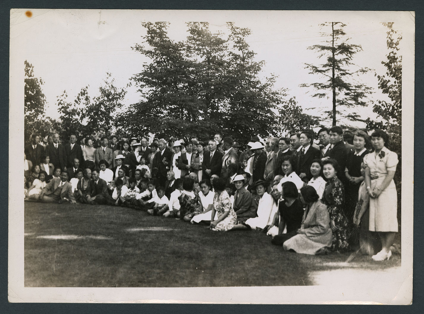 Congregation in the park