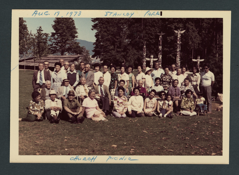Church picnic, Stanley Park