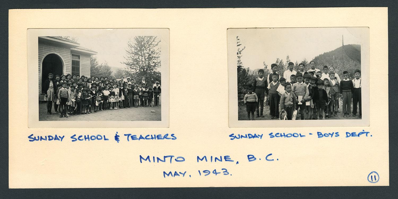 Minto Mine, BC