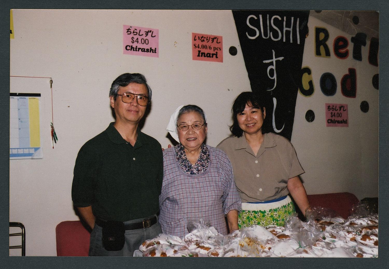 Food sales at Cherry Blossom Bazaar: Recto